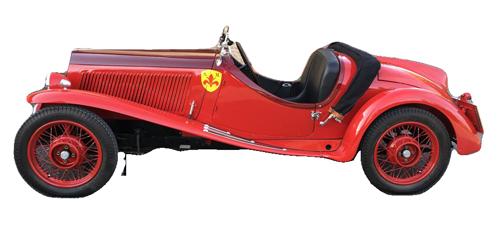 Fiat 508 Balilla Coppa oro